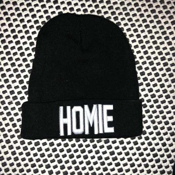 Hot Topic Accessories - Homie graphic Beanie b8cdc41452e7